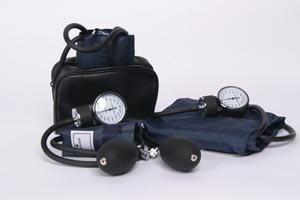 ADC 776Z Aneroid Sphygmomanometer Adult Navy Latex Free (LF)