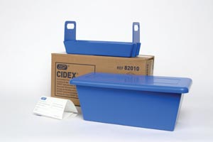 """J&J 82010 Tray System 13 x 7"""" x 5"""" 1 Tray Lid & Liner (Inside dimensions are exactly 1"""" less than what is listed)"""