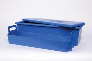 """J&J 82016 Tray System 20 x 7"""" x 5"""" 1 Tray Lid & Liner (Inside dimensions are exactly 1"""" less than what is listed)"""