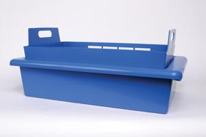 """J&J 82076 Tray System 23 x 15"""" x 5 1/2"""" 1 tray Lid & Liner (Inside dimensions are exactly 1"""" less than what is listed)"""