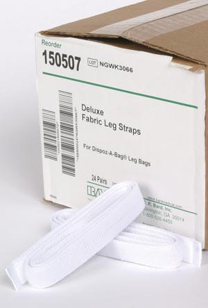 Bard 150507 Deluxe Fabric Leg Straps 24 24 pr/cs