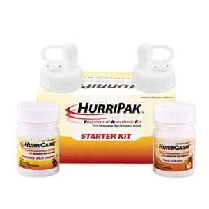 Beutlich 0283-1009-09 HurriPAK Periodontal Anesthetic Starter Kit Wild Cherry & Pina Colada