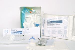 Cardinal Health 6014 Curity Foley Catheter Tray with #6209 Drain Bag 2000mL 16 FR 10/cs