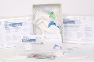 Cardinal Health 6070 Foley Catheter Tray with #6208 Drain Bag 2000mL Silicone 14FR 5cc Drain Bag 10/cs