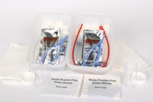 Cardinal Health 3141 Curity Open System Tray Vinyl PVP 20/cs