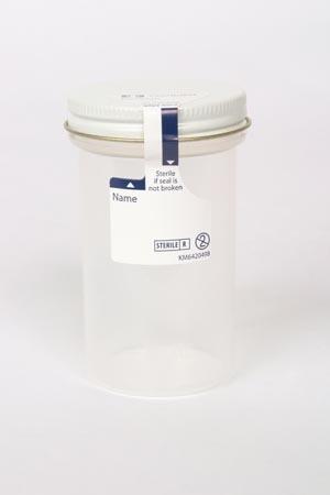 Cardinal Health 2200SA Specimen Container 5 oz Sterile 50/bx 4 bx/cs