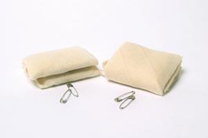 """Dukal CTB40 Triangular Bandage 40 x 40"""" x 56"""" 12/bg 20 bg/cs"""