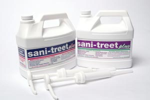 Enzyme 4198-NDC Sani-Treet Plus Gallon Peppermint 4/cs