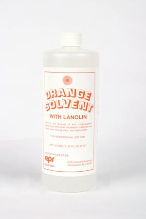 EPR Industries 134 Orange Solvent  Qt 12/cs