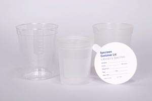 Specimen Container Only, 4 oz, 500/cs