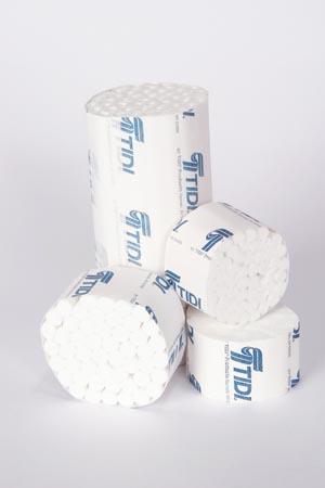 """Cotton Roll, #2 Medium, Non-Sterile, 3/8"""" x 1-1/2"""", 2000/bx"""