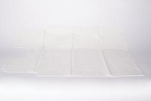 """Gown, 30"""" x 42"""", 3-Ply Tissue, White, Front or Back Opening, 50/cs"""