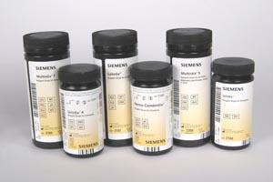 Siemens 2166 Uristix 4 Reagent Strips CLIA Waived 100/btl (10312569)