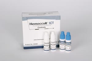 HemoCue 395068A Hemoccult ICT Control Kit Contains: Product Instructions 2 Bottles Negative & Positive Controls (Expiry date lead 90 days) (Ships on ice)