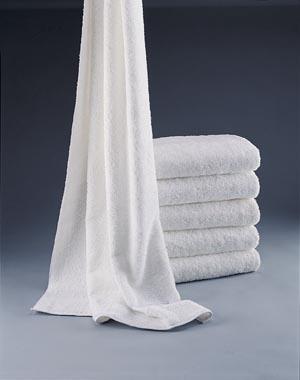 """Calderon 1000-5 Bath Towel 20 x 40"""" 100% Cotton 5 lb White 1 dz (020194)"""