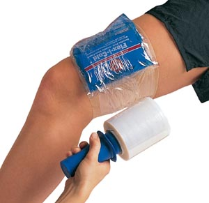"Flex-I-Wrap, 4"" with Handle, Clear, 6/bx (026358)"