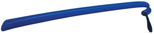 "Shoehorn, Plastic, with Curved Grip &Wrist Strap, 16_""L (KS33010, 051159)"