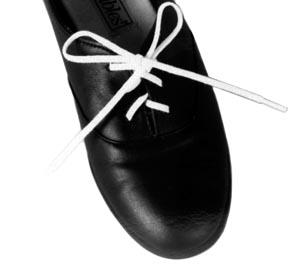 """Shoe Laces, White, 3/16"""" x 24"""", 2 pr/pk (KS31516, 051175)"""