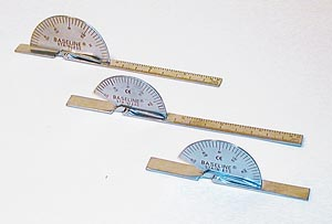 Fabrication Enterprises 12-1010 Baseline SS Finger Goniometer 6 (FE121010 060007)