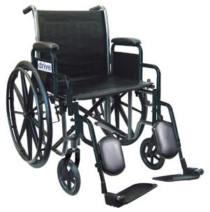 DeVilbiss SSP218DDA-ELR Wheelchair 18 Detachable Desk Arm & Elevated Legrest