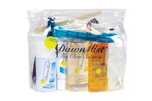 Dukal TRAVELKIT Travel Kit Includes: Shampoo Body Bath Hand Sanitizer Shave Cream Razor Deodorant Toothbrush Hand Lotion Toothpaste Comb Nail Clipper & Emery Board 24/cs