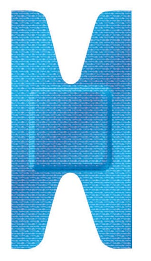 Dukal 99920 Adhesive Bandage Knuckle 50/tray 24 tray/cs