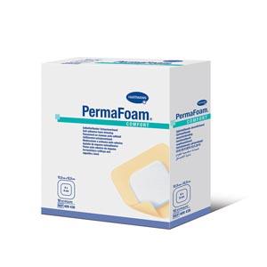 """Hartmann 409408 Foam Membrane Dressing 4 x 4"""" PermaFoam Comfort Adhesive Sterile 10/bx"""