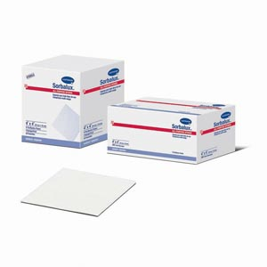 "Hartmann 48850000 Sponge All-Purpose Non-Sterile 4 x 4"" 4-Ply 200/slv 10 slv/cs"