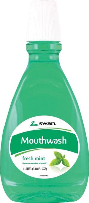 Cumberland 1000002102 Blue Mint Mouthwash 1.5 Liter 6/cs  (66412)