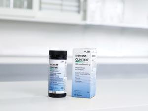 Siemens 2083 Clinitek Microalbumin Reagent Test Strips CLIA Waived 25/btl (10317439)