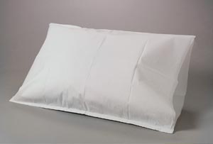 "Pillowcase, 21"" x 30"", Tissue/ Poly, White, 100/cs"