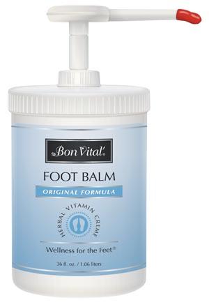 Hygenic BVFB36Z Foot Balm Crème 36 oz Europump