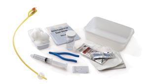 Cardinal Health 2101 Universal Catheterization Tray Foley Latex Catheter 16FR 5cc Specimen Container 20/cs