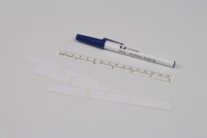 Cardinal Health 31145959 Surgical Skin Marker 155 Ruler Cap Regular Tip 50/bx 2 bx/cs (42 cs/plt)
