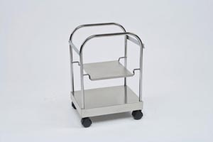 Cardinal Health 31140109 Accessories: Cart for 7 & 10 Gal Sharps Container 4 Casters 1/cs