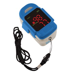 Fabrication Enterprises 43460 Fingertip Pulse Oximeter (060417)