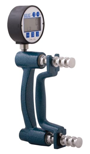 Fabrication Enterprises 12-0247 Baseline Digital Hydraulic Hand Dynamometer 300 lb  (FE120247 060094)