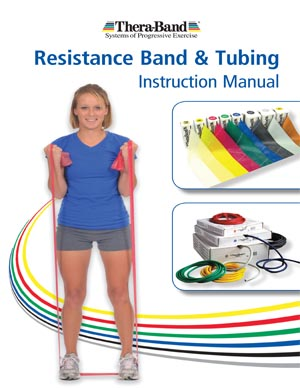 Theraband 22136 Thera-Band Instruction Manual Packed Individually (HY22136)