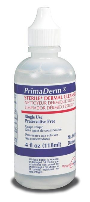 Derma Sciences 69101 Wound Cleanser 118mL 4.15 oz 12/cs