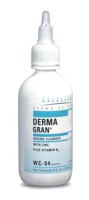 Derma Sciences WC04 Wound Cleanser 4 oz 12/cs