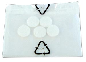 Nebulizer System Accessory: Replacement Filters, 5/pk