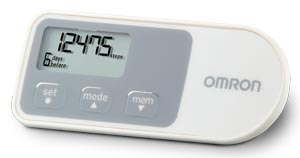 2-Mode Tracking Pedometer
