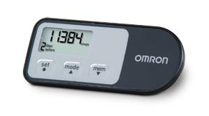 4-Mode Tracking Pedometer
