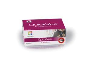 Quickvue H. pylori gII, CLIA Waived, 10 tests/kit