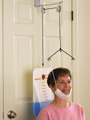 Overdoor Cervical Traction, Standard Halter (TDSCTRAX)