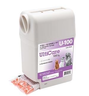 "UltiGuard U-100 Syringe Dispenser, 29G x -1/2"", 3/10cc, 100/bx"