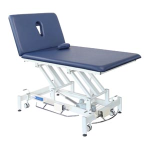 "Treatment Table, 2-Section, Imperial Blue, 82""L x 40""W x 36""H   (012513)"