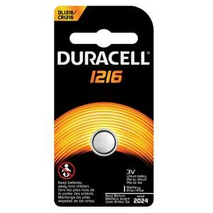 Battery, Lithium, Size DL1216, 3V, 6/cs (UPC# 66262)