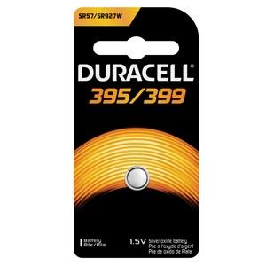 Battery, Silver Oxide, Size 395/399, 1.5V, 6/cs (UPC# 66142)