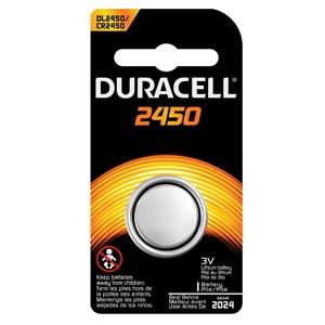 Battery, Lithium, Size DL2450, 3V, 6/bx (UPC# 66186)